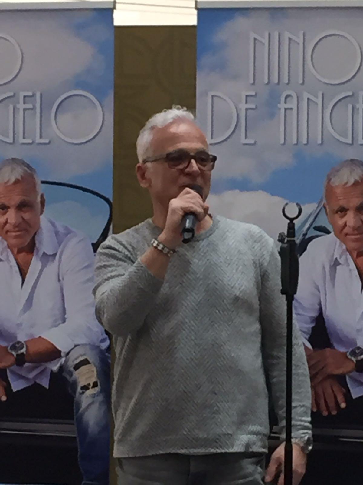 Autogramm Tournee Nino de Angelo